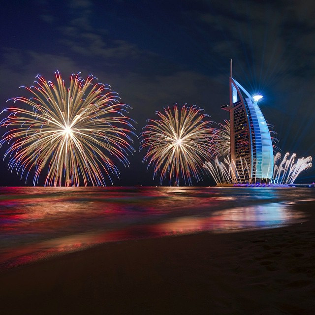 Fireworks in Dubai - Image by: Ading Attamimi